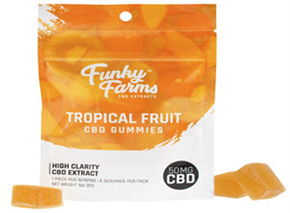 Tropical Fruit Gummies
